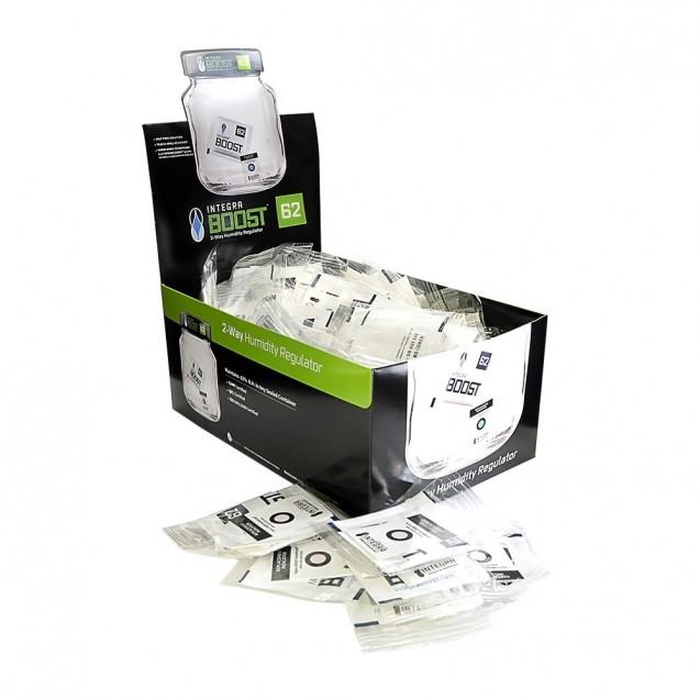 8-gram Integra Boost 2-way Humidity Control 62% - 4 Retail Packs - 200 per Pack