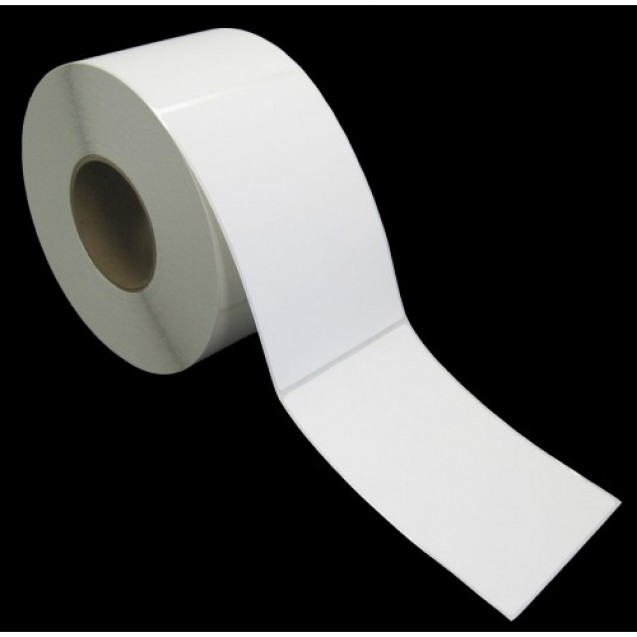 "4x6 inkjet gloss paper labels rolls - 4"" roll OD, 2"" core"