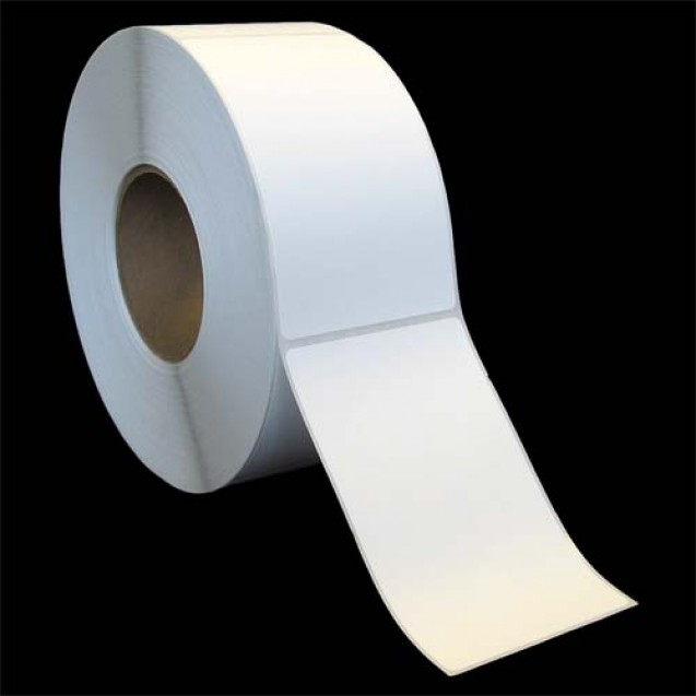 """3x5 inkjet matte paper labels rolls - 4"""" roll OD, 2"""" core"""