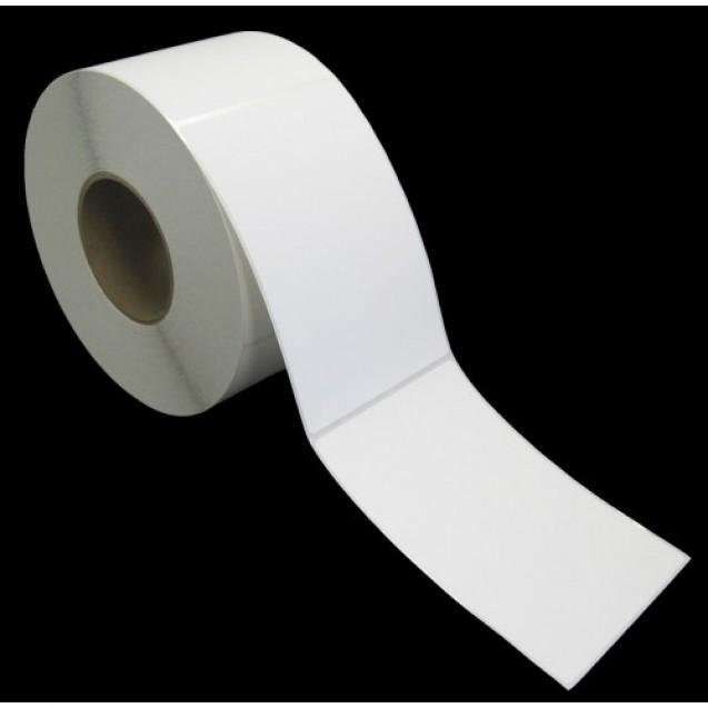 """4x6 inkjet matte paper labels rolls - 8"""" roll OD, 3"""" core"""