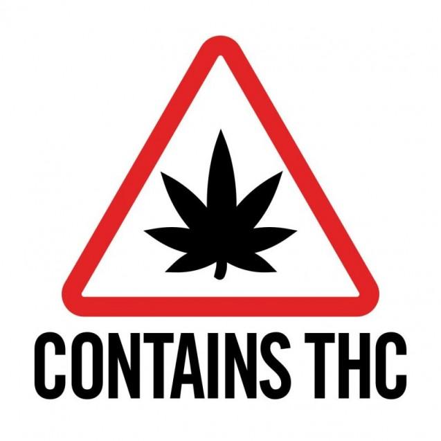 Massachusetts Universal Cannabis Symbol Label