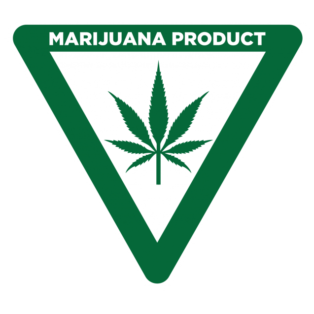 Michigan Universal Cannabis Symbol Label