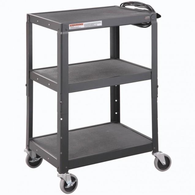 Steel Mobile Workstation Cart