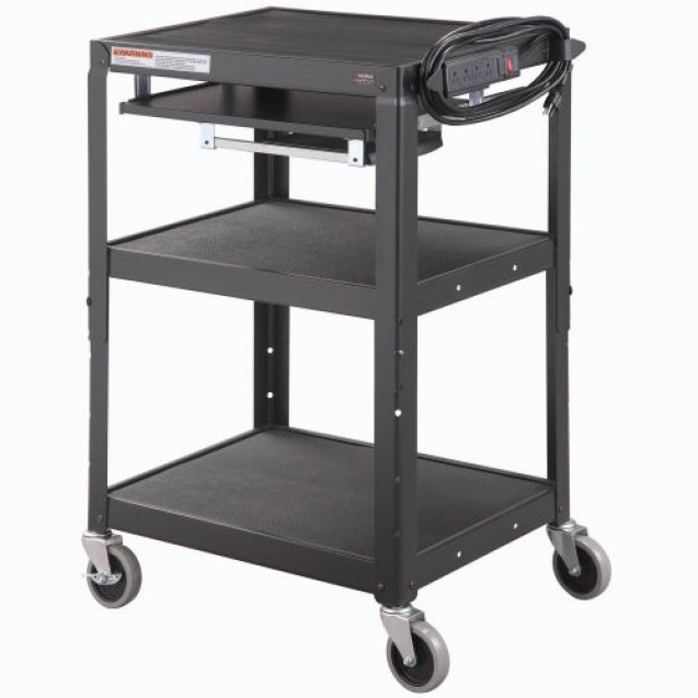 Steel Mobile Workstation Cart