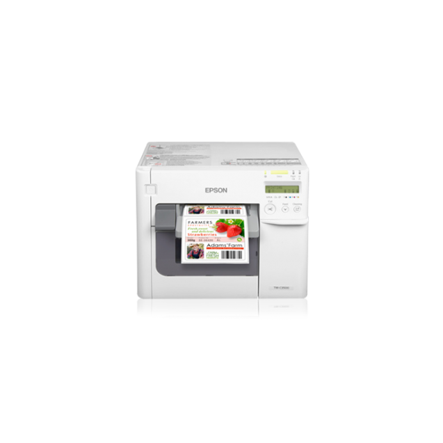 Epson ColorWorks C3500 Color Inkjet Label Printer