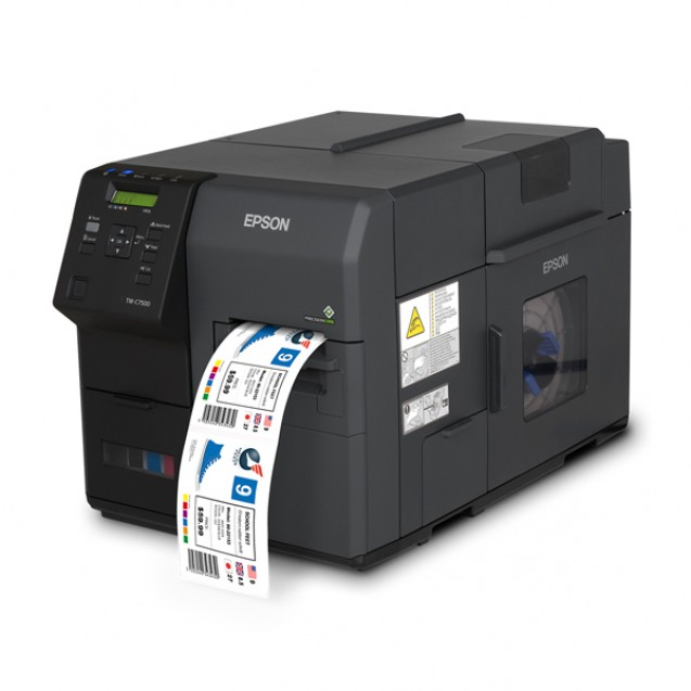 Epson ColorWorks C7500G Color Inkjet Label Printer