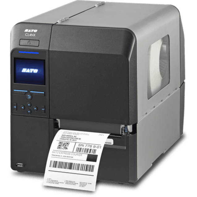 SATO CL412NX Thermal Transfer Label Printer