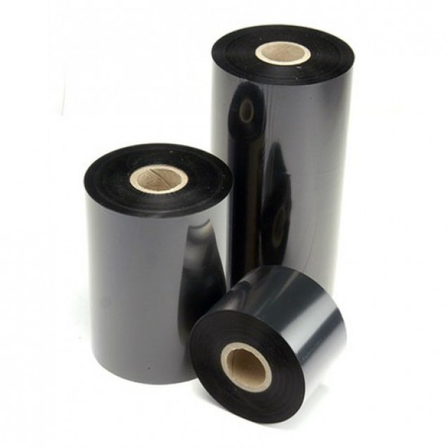 "Resin-Enhanced Wax Thermal Transfer Ribbons, 3.27"" Wide, For SATO WS4 Thermal Label Printer"