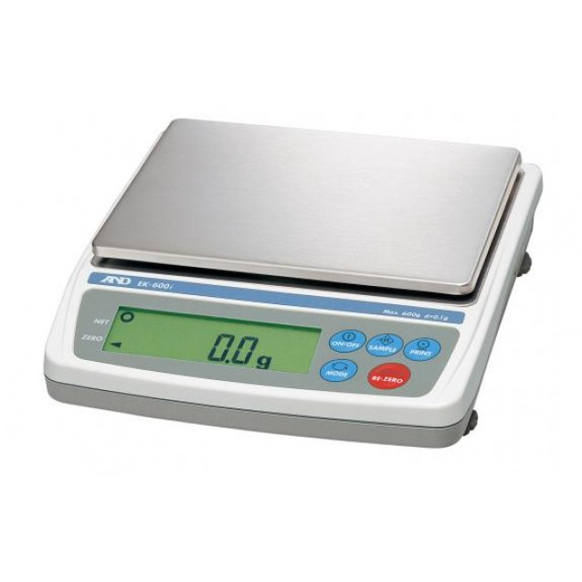 A&D EK-1200i NTEP Class II Compact Balance Scale with External Calibration