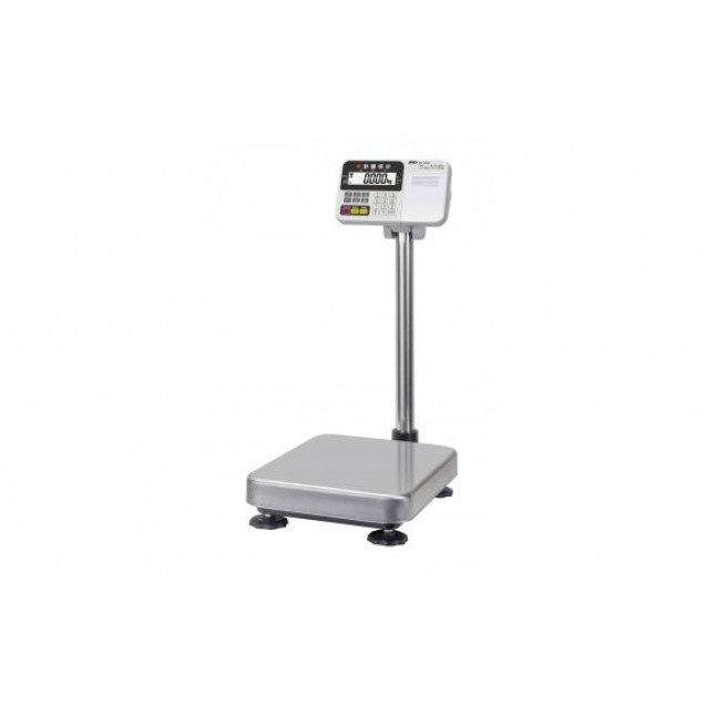 A&D HV-60KC High Resolution Platform Bench Scale- 150lb/60kg Capacity