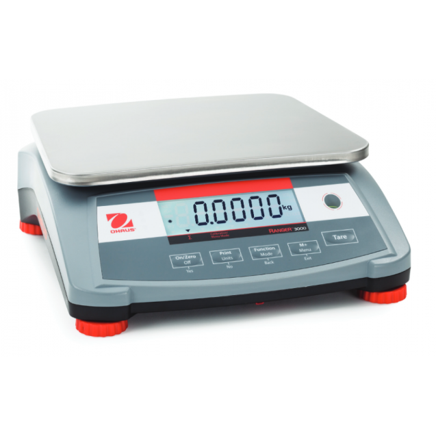 OHAUS Ranger 3000 Compact Bench Scale - 60lb/30kg Capacity